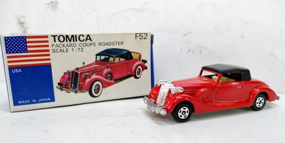 Tomica Packard Coupe Roadster F52 Made In Japan