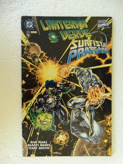 Lanterna Verde Surfista Prateado! Editora Abril Mar 1997!