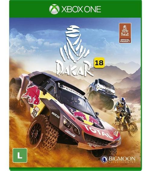 Dakar 18 - Xbox One - Novo - Midia Física - Lacrado