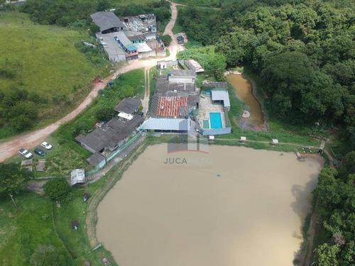 Terreno À Venda, 3812 M² Por R$ 1.500.000,00 - Aliança - Ribeirão Pires/sp - Te0063
