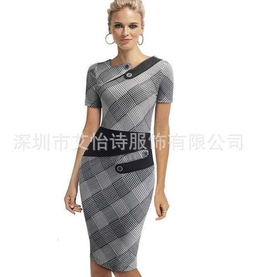 Vestido Fiesta Importado Oficina Modelo Tamika Qilaixing