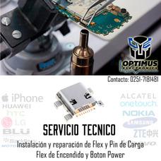 Servicio Instalación Pin De Carga Flex Teléfonos Celulares