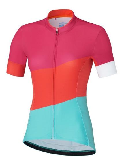 Jersey Remera Ciclismo Dama Shimano Sumire - Racer Bikes