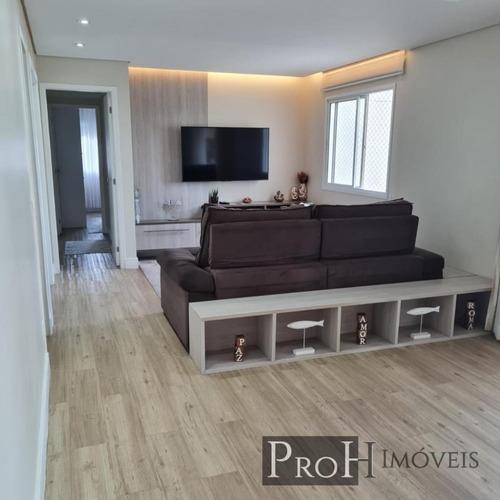 Imagem 1 de 14 de Apto 123m² Com 3 Dorms, Porteira Fechada E Lazer Completo
