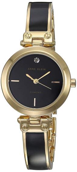 Anne Klein Reloj Classic Mujer Ak-2694bkgb
