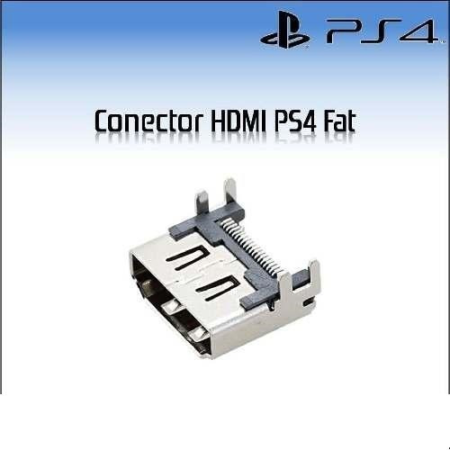 Puerto Hdmi Fat Slim Conector Sony Playstation 4 Zona Tech