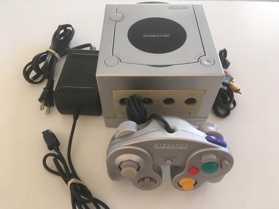Console Nintendo Game Cube Prata Japonês - Madgames