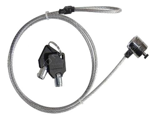 Imagen 1 de 3 de Guaya De Seguridad Con 2 Llaves Para Portátil, Monitor, Etc.