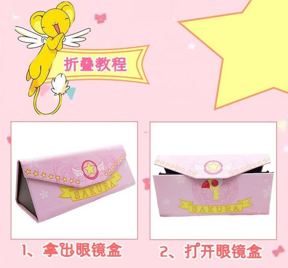 Sakura Card Captor Porta Lentes Y Cartera Original Importada