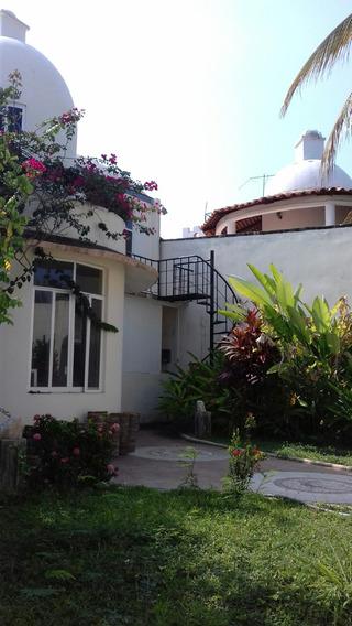 Casa Malú Con Cancha De Tenis, Vista Al Mar Puerto Escondido