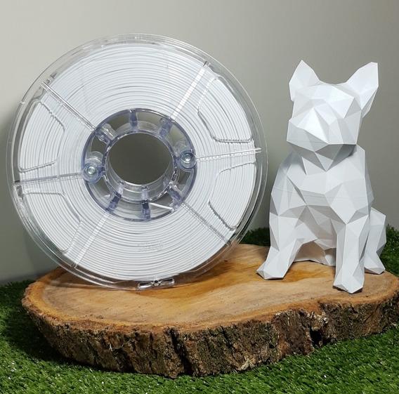 Filamento Pla 1,75mm Branco - Alto Teor De Pureza 1kg