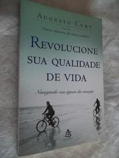 * Livro - Revolucione Sua Qualidade De Vida Augusto Cury