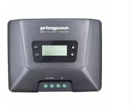 Controlador Solar 50a Mppt Fangpusun 100/50d 12/24v Promoção