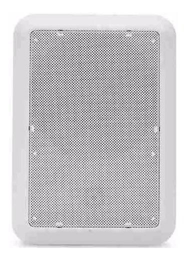 Caixa 10 Pç Acústica De Teto Som Ambiente Arandela Embutir
