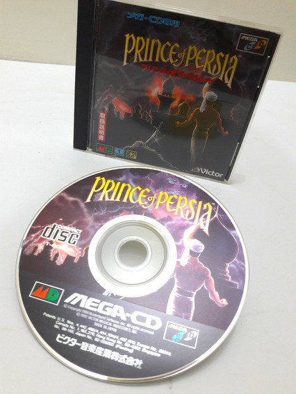 Prince Of Persia Para Sega Cd Original Japonês Completo