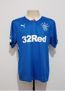 Camisa Oficial Futebol Rangers Escócia 2014 Home Puma Tam G