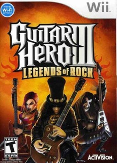 Guitar Hero Iii: Legends Of Rock Nintendo Wii Solo Jue...