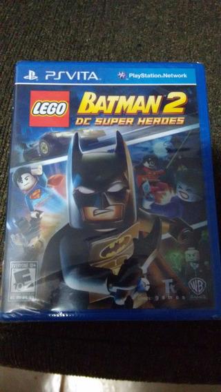 Lego Batman 2 Dc Super Heroes Ps Vita Psvita Novo Lacrado!!!