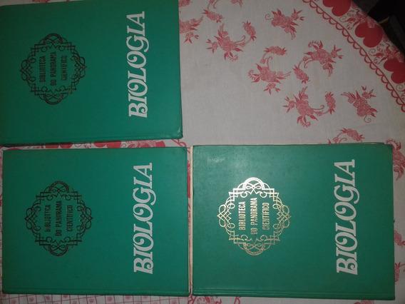 Biologia -biblioteca Do Panorama Cientifico 3 Volumes