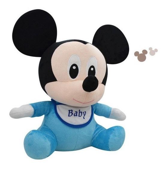 Pelucia Mickey Baby Antialergico Lançamento Promoção