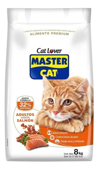 Alimento Gato Adulto Salmon 8 Kg - Master Cat