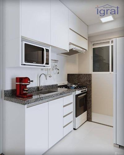 Apartamento À Venda, 35 M² Por R$ 240.000,00 - Jardim Oriental - São Paulo/sp - Ap1304