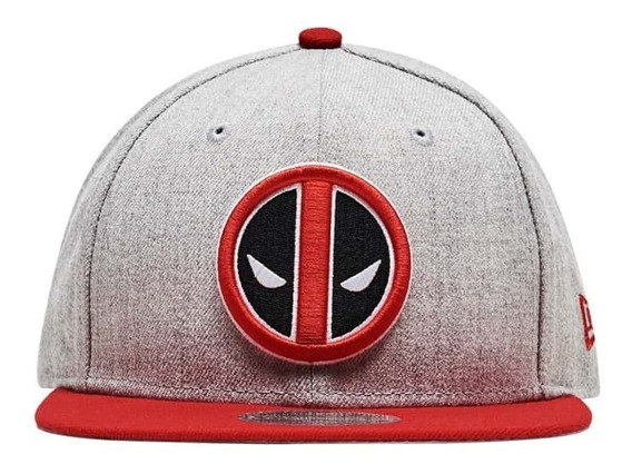 Gorra New Era Hombre Gris Deadpool Hth Act 9500f 80410757