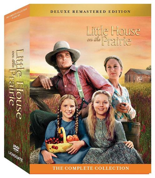 Dvd Little House On The Prairie Familia Ingalls 1 - 9