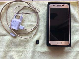 Galaxy S7 32gb Dourado + Cartão De Memória 32gb
