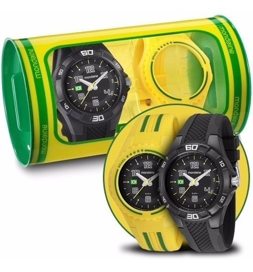 Relógio Unissex Mondaine Analógico Modelo: 69212g0mvnv1