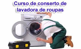 Curso Aprenda A Consertar Máquina De Lavar Em 5 Dvds