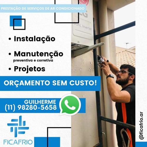 Imagem 1 de 4 de Instalação De Ar Condicionado A Partir De R$600,00