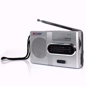 Radio De Bolso Portatil Am Fm Pilha