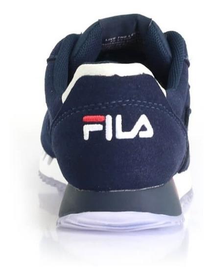 Tênis Fila Classic 92 Marinho Jogging - Way Tenis