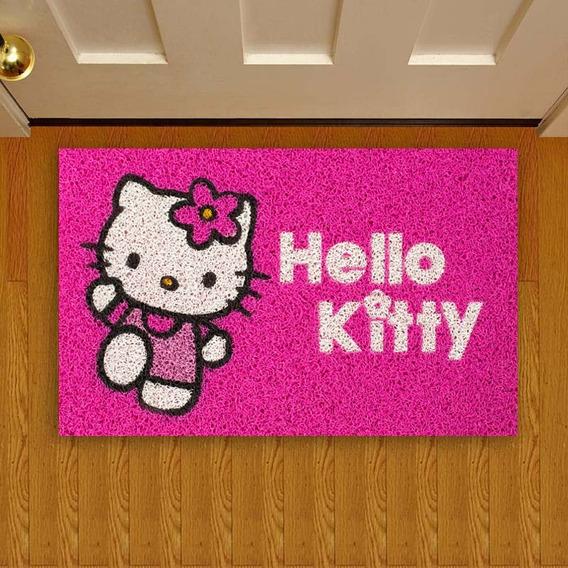 Tapete Capacho Criativo Infantil Hello Kitty