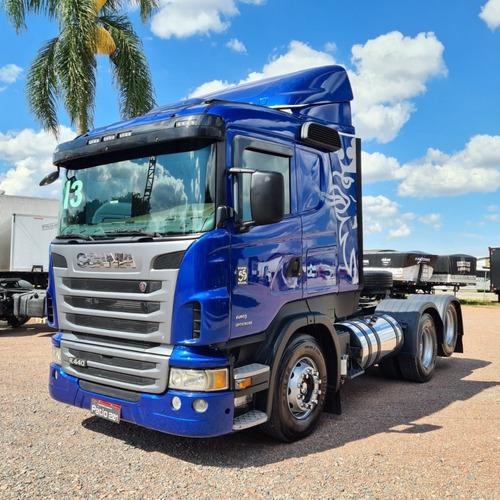 Caminhão Scania R440 Série Especial 55 Anos 6x2 2013