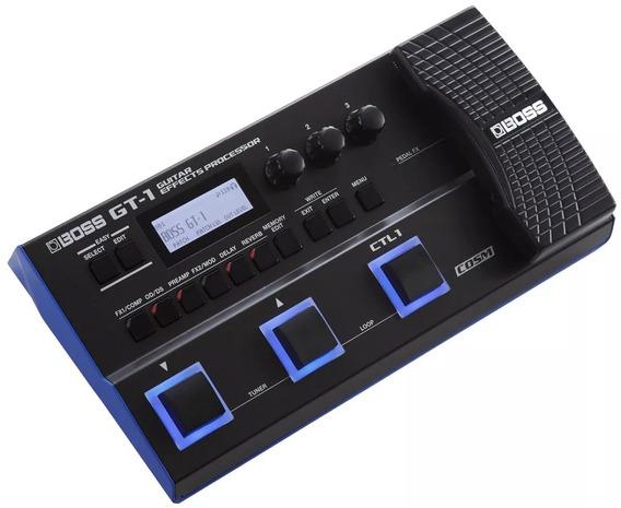 Pedaleira Boss Gt-1 Multi-efeitos P/ Guitarra