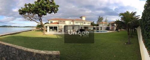 Casa Com 7 Dormitórios À Venda, 700 M² Por R$ 8.600.000,00 - Baia Formosa - Armação Dos Búzios/rj - Ca0737