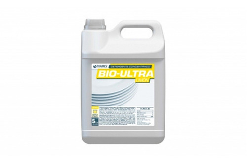 Imagen 1 de 5 de Detergente Bio-ultra Limón X 5lt