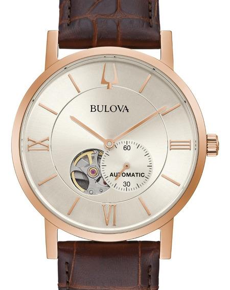 Relógio Bulova Masculino Classico Automatico 97a150