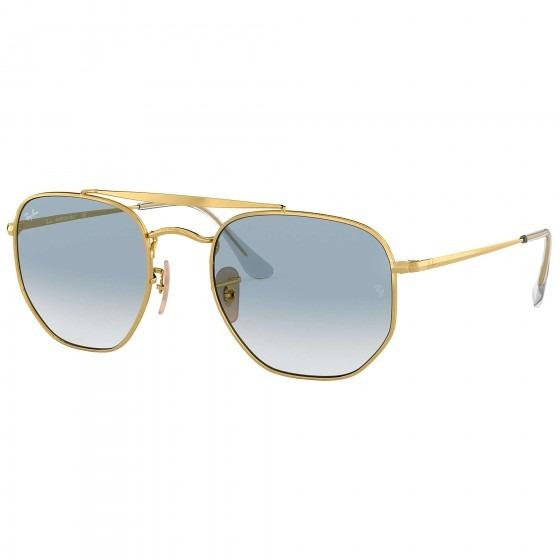 Óculos De Sol Ray-ban Marshal Rb3648 001/3f Unisx - Refinado