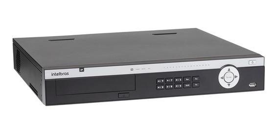 Nvr Stand Alone 4k Ultra Hd Intelbras Nvd 5124 24 Canais