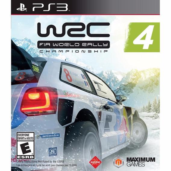 Wrc 4: Fia World Rally Championship - Ps3 (produto Novo)