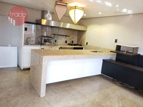 Apartamento Para Alugar, 228 M² Por R$ 5.500,00/mês - Jardim Irajá - Ribeirão Preto/sp - Ap6989