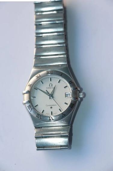 Reloj Omega Constellation Quartz Acero Al Mejor Precio