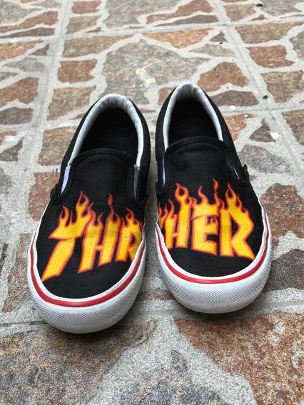 Zapatos Vans X Thrasher