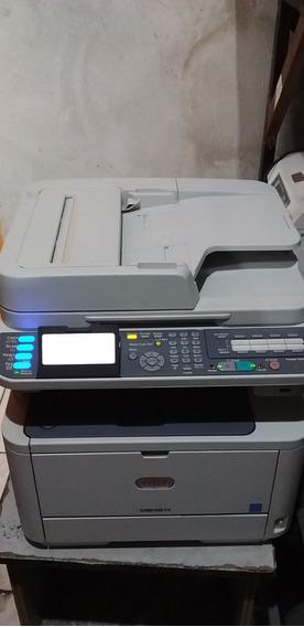 Impressora Multifuncional Oki Mb491+ Pronta Para Uso