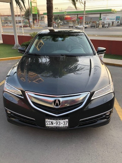 Acura Tlx Advance 2015 Impecable V6 290 Hp Sh-awd Unico!
