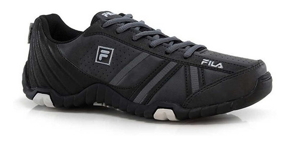 Zapatillas Fila Slant Force Negra Trekking Outdoor Aventura
