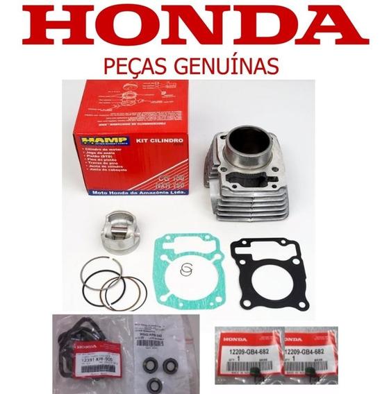 Kit Cilindro Motor Cg 150 Titan/bros 150 Original Honda Hamp